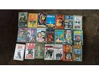 39 assorted VHS tapes