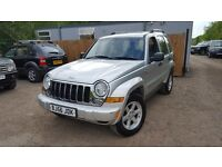 Jeep Cherokee 2.8 TD Limited Station Wagon Auto 4x4 5dr£1,750 GEARBOX FAULT. CODE P0733 2006 56 reg)