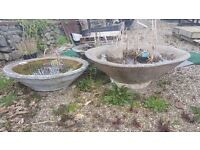 Circular Troughs Planter/Water Feature