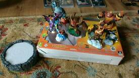 PS3 Skylanders x 3 packs and additional figures