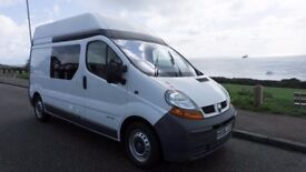 Renault Trafic Hi-top Campervan. Professional Conversion. Drives really well.