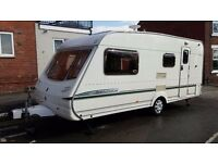 Abbey Aventura 320. 4/5 Berth Caravan with Full Dorema Awning and Extras.