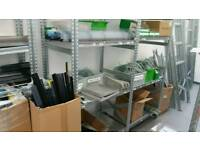 Store metalwork & fixtures entire storage