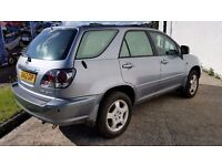 2003 LEXUS RX 300 SE CVT 3.0 V6 - 1 YEARS MOT- FULL LEATHER - SUNROOF - CRUISE-PART EXCHANGE WELCOME