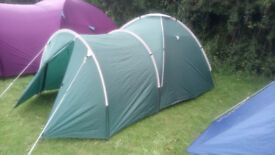 2/4 Berth Tent with porch