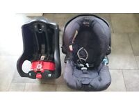 Graco infant car seat and base