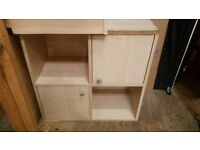 2 side cabinets
