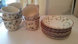 8piece tea set