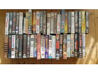Free! 45+ VHS films assorted