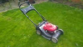 Petrol lawnmower honda hrx 426