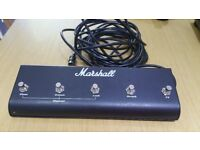 MarshallOriginal Marshall Footswitch, Five Button With LED (Clean, Crunch, Lead, Reverb, FX)