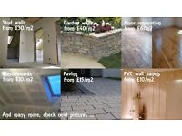 All types of home improvement, renovation and maintenance - top quality, low price, great references