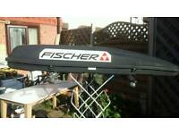 Extra long roof box 220cm with roof bars