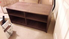 Good condition wooden tv stand
