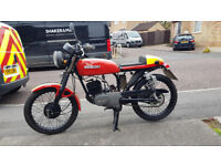 Suzuki GP100 Cafe Racer, only 1 previous owner, Interesting number plate, recent MOT, new tyres