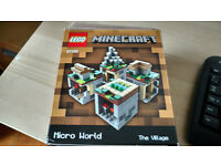 Minecraft Micro World : 21105 The Village - Complete
