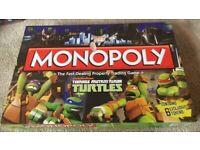 Ninja turtles monopoly game