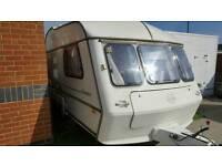 Award dawnstar 2 berth lightweight modern caravan 1996