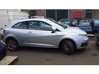 SEAT IBIZA 2008 GREY BREAKING MOST PARTS Available