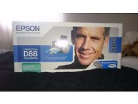 EPSON STYLUS D88 PHOTO EDITION PRINTER WITH CARTRIDGES