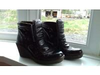 Fly London wedge boots