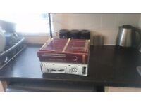 ***CUSTOM CASED XBOX 360 AND A NORMAL XBOX 360****