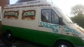 Ice cream van / milkshake van