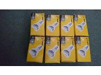8x GE 40W R50 SES E14 Reflector Spot Light Bulbs