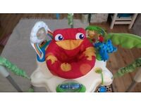 Jungle jumperoo baby bouncer