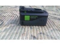 Festool 18v 5.2Ah Li-ion AIRSTREAM Battery