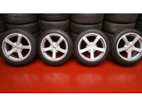 Mazda Ford FOX FX1 alloy wheels 17 + 4 x tyres 205 50 17 Mazda,Honda,Toyota ,Vauxhall,and more