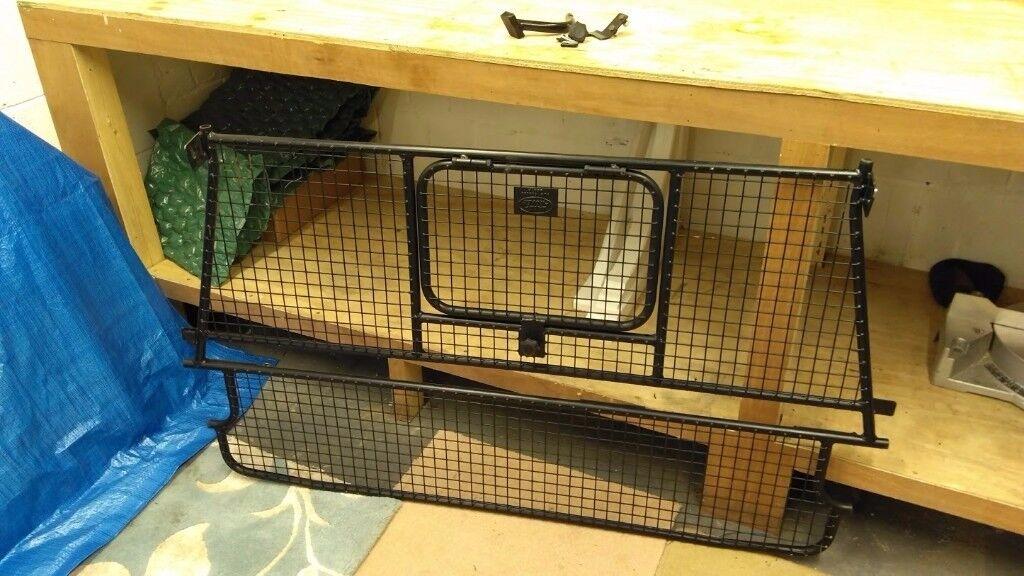 Genuine Landrover Defender 90 110 Wire Mesh Dog Guard