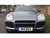 PORSCHE CAYENNE 4.5 TURBO TRIPTONIC 5dr (2004) £11,495,00 p:x welcome Full service history