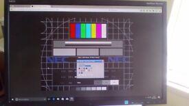 IPS, LED, Gaming monitor form 16/10 NEC EA223WM,sound, pivot, high,tilt superior colors*Read!*