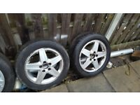 "Ford 16""Alloy Wheels x 4"