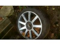 "18"" alloy wheels vw seat skoda golf t4"
