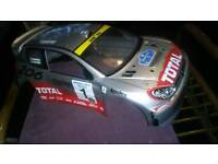 1/10 Scale Peugeot 206 RC Car Rally Shell. Excellent Condition..