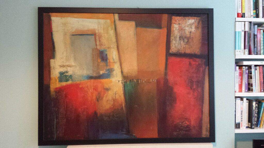 Ikea Framed Canvas Painting By Patrizio 128x100cm