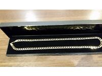 9CT HALLMARKED CURB CHAIN (COLLECTION ONLY)