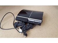 Playstation 3 (Original version, 80GB), 2 Controllers & 7 games.