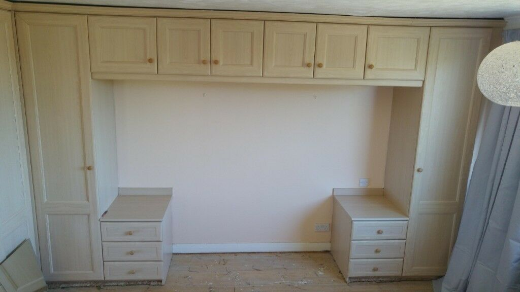 Fitted Bedroom Furniture Over Bed Storage Wardrobe