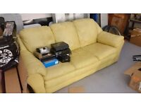 3 seater cream sofa (FREE)