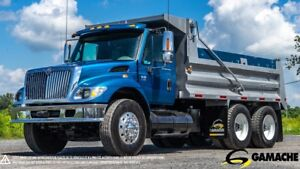 2007 INTERNATIONAL 7400  TANDEM AXLE DUMP TRUCK