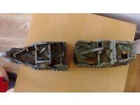 Shipwerck polyresin aquarium ornament ship boat wreck ruin large fish tank decor
