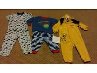 12 - 18 month boys pyjama bundle.