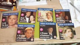 7 new dvds in the Barbara Taylor Bradford range details below