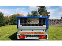 NEW Car trailer and mesh 6 x 4 x 2,25 £650 inc vat
