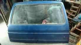 VW T25 heated rear windscreen