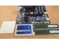 I7-4790K, 16GB DDR3 RAM, 240GB SSD, Motherboard Bundle