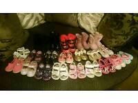 Massive bundle of toddler girl size 4 shoes